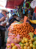 Oranges are a special treat around Christmas time, they are often in pinatas, along with candy