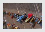 Ponts des Arts lovers padlocks 1