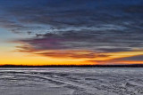 Frozen Lower Rideau Lake At Dawn 20110221