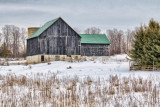 Barn In Winter 05954