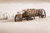 Snowy Old Milk Wagon 05673sep