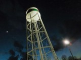 Twilight Water Tower 20110407