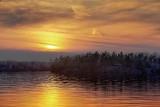 Otter Lake Sunset 09159-61