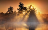 Sunrise Sunrays 20110630