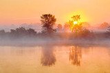 Misty Rideau Canal Sunrise 11862