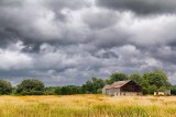 Barn Under Brooding Sky 20110825