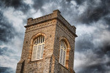 Belfry Under Roiling Sky 20110901