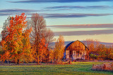 Autumn Barn At Sunrise 20111018
