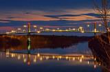 Thousand Islands Bridge At Twilight 20111031