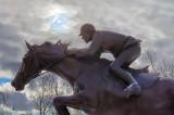 Big Ben & Ian Millar Statue 20581-3