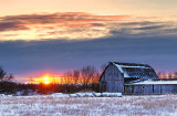 Barn In Sunrise 20120310