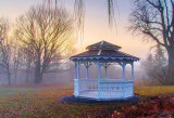 Gazebo At Dawn 22556