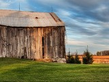 Old Barn At Sunset 00217