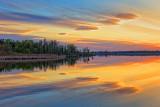 Sunset Clouds & Sunrays 00229