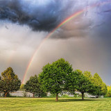 Evening Rainbow 20120521