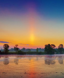 Sunrise Solar Pillar 20120524