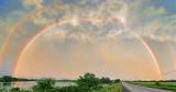 Sunset Rainbow 01037-9