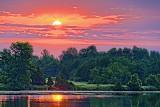 Rideau Canal Sunrise 20120620