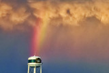 Watertower At The End Of The Rainbow 20120710