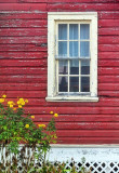 Window In Red Wall 25571