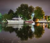 Boats At Night 25687