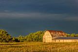 Barn Under Heavy Sky 01319
