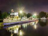 Boats At Night 20120811