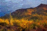 Desert At Sunrise 79169 Art