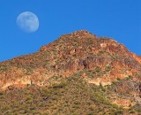Moon Over The Mountain 80470