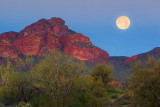 Red Mountain Moonset 80597