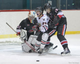 Battling for the Puck
