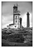 Le Sémaphore et le phare de Penmarch