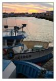Port de St Guénolé au réveil...