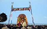 Lord Subramanyam [Murugan] surrounded by devotees. Skanda Sashti at Tiruchendur.