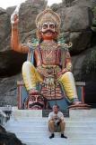Ayyanar, a Powerful Village God in Tamil Nadu, India.