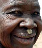 Fetish priest´s relative in Talawona.