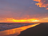 fiery sunset at hatteras cove.jpg