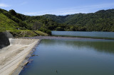 The Spilling Stevens Creek Reservoir