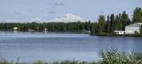 Denali from the shores of Kashwitna Lake