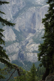 Yosemite Falls from the Pohono Trail