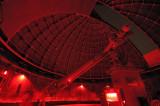The historic Lick 36 Refractor Telescope