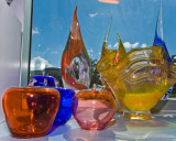Finished glass ware