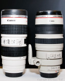 Canon drinking cup and real 100-400 mm