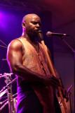Christian Kibongui Saminou, à la flûte