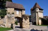 Nevers  Porte et avant-porte du Croux