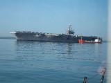 USS Theodore Roosevelt CVN71 Stokes Bay UK  05 April 2009