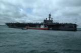 USS George H W Bush CVN77 Stokes Bay UK 29 May 2011
