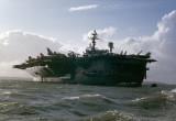 USS JOHN F KENNEDY CV67 STOKES BAY UK   OCTOBER 1976