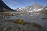 Glacier water
