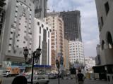 Suasana Makkah dekat Masjidil Haram